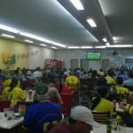 Die Spieleröffnung der »Paulistas«